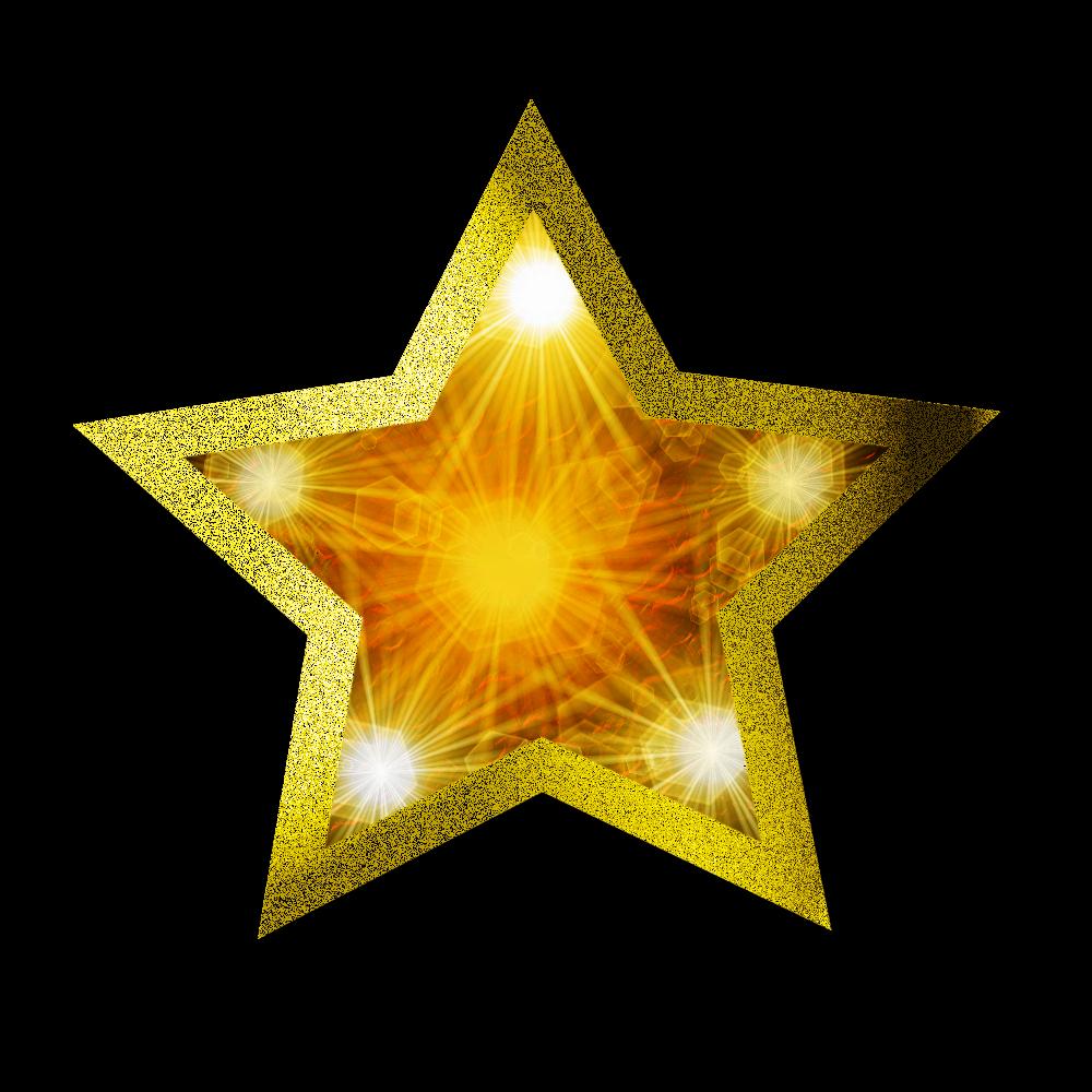 Download Christmas Gold Star Clipart HQ PNG Image   FreePNGImg