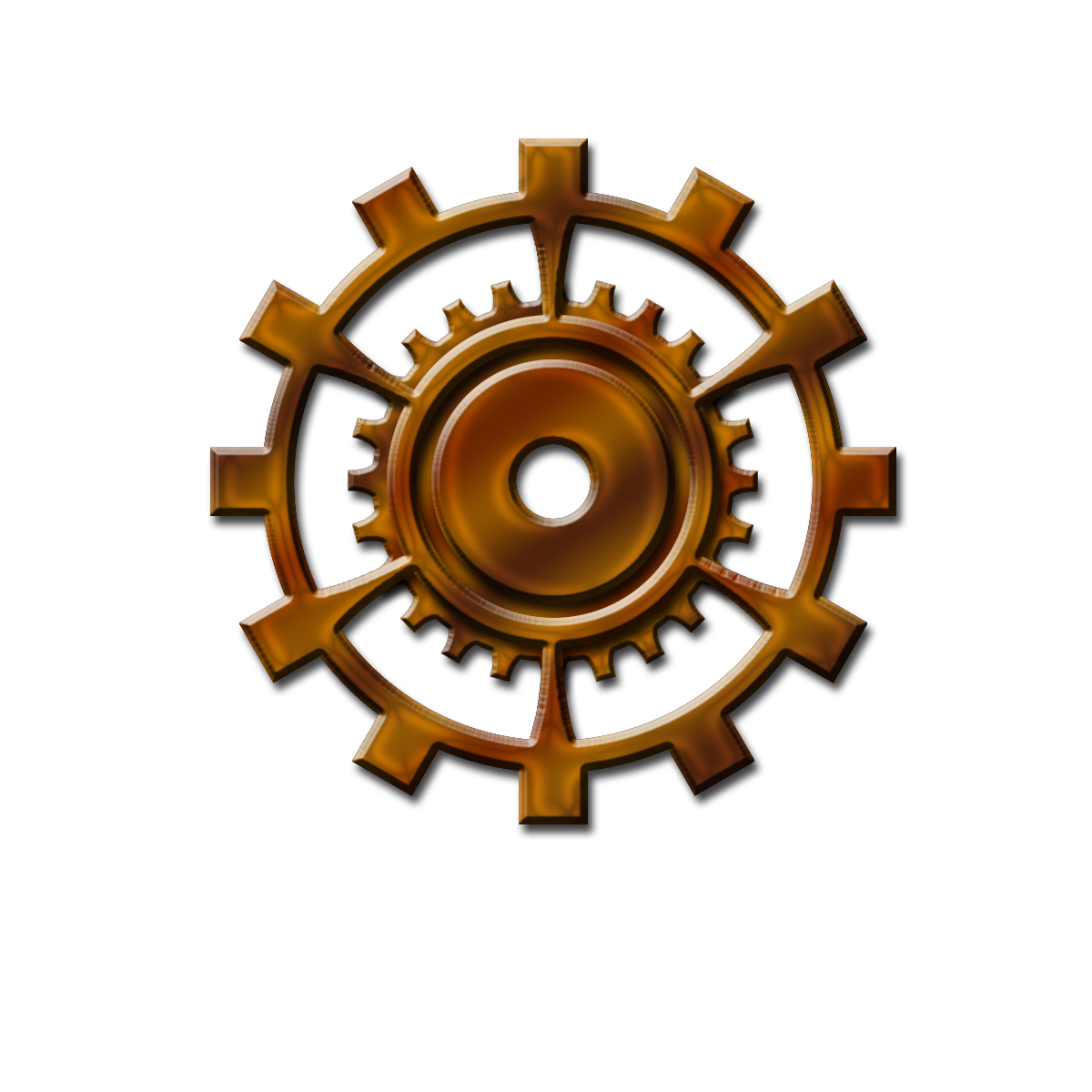 Steampunk Gear Image PNG Image