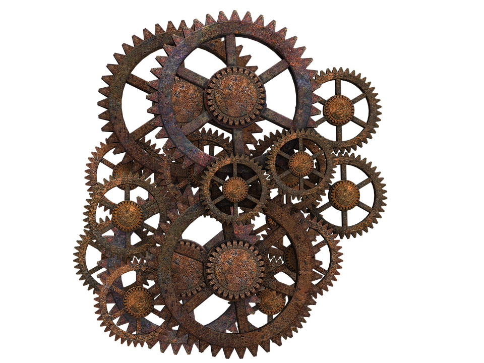 Steampunk Gear Clipart PNG Image