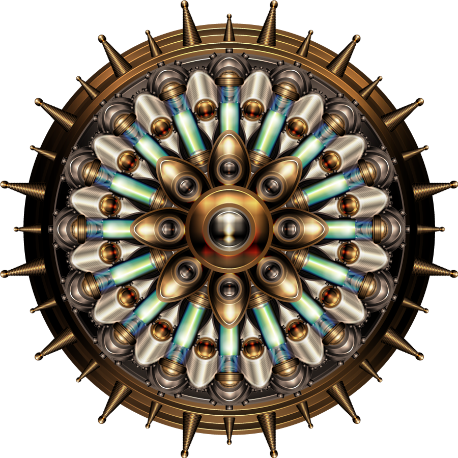 Steampunk Gear Transparent Image PNG Image