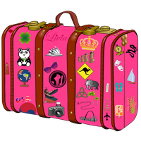 Suitcase Png Clipart PNG Image