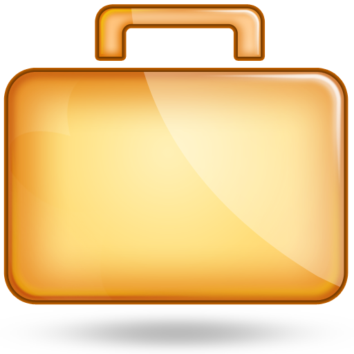 Suitcase Icon PNG Image