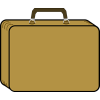 Suitcase Download Png PNG Image