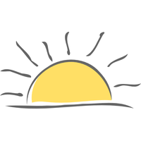 Image result for sunrise png