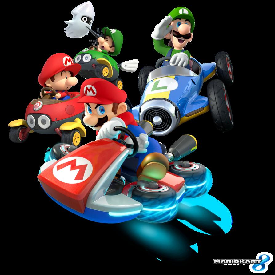 Download Super Mario Kart Transparent Background HQ PNG Image | FreePNGImg