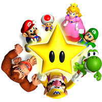 Mario Party Transparent Background PNG Image