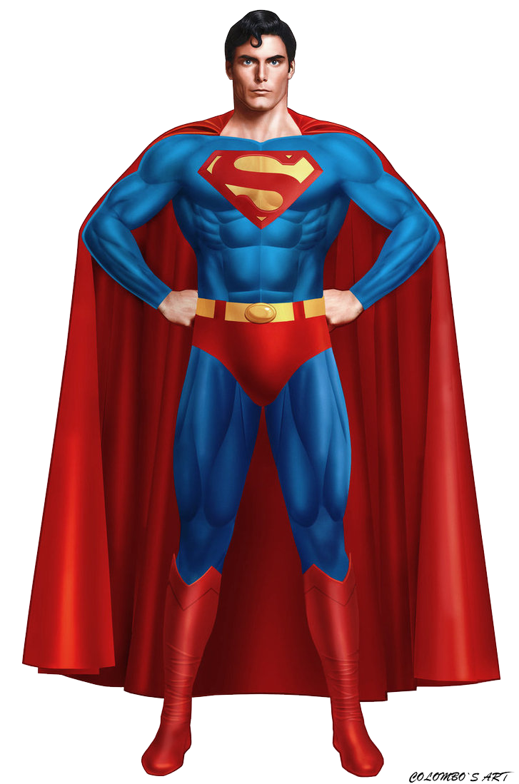 Superman Transparent PNG Image