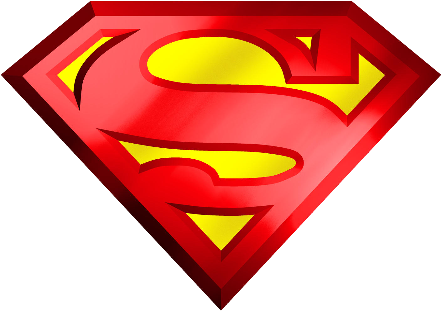 Superman Logo Transparent PNG Image