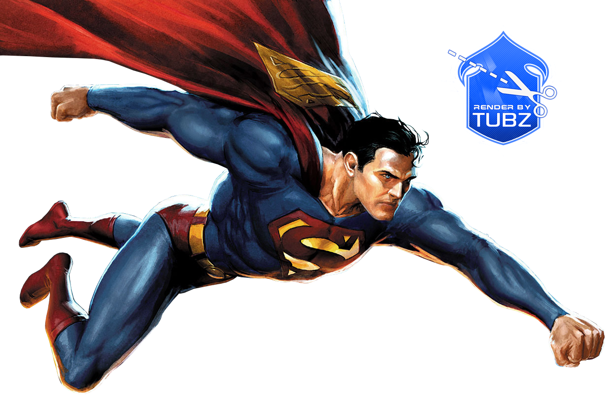 Superman Flying Png PNG Image