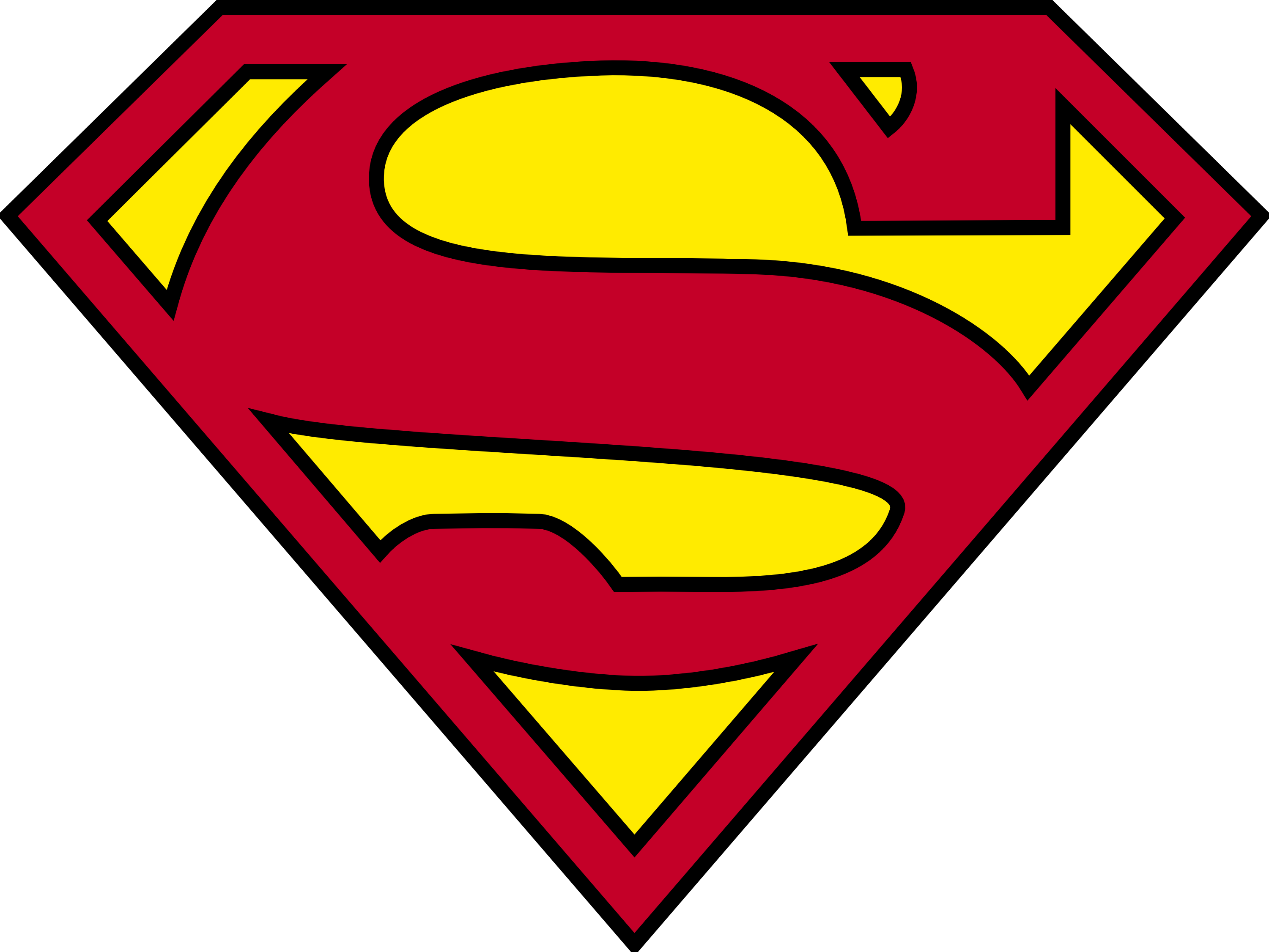 Superman Logo Png File PNG Image