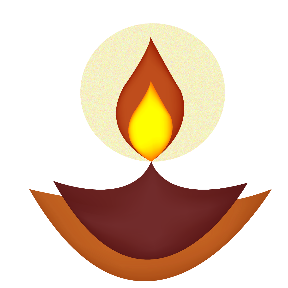 Hinduism diwali symbol DIya
