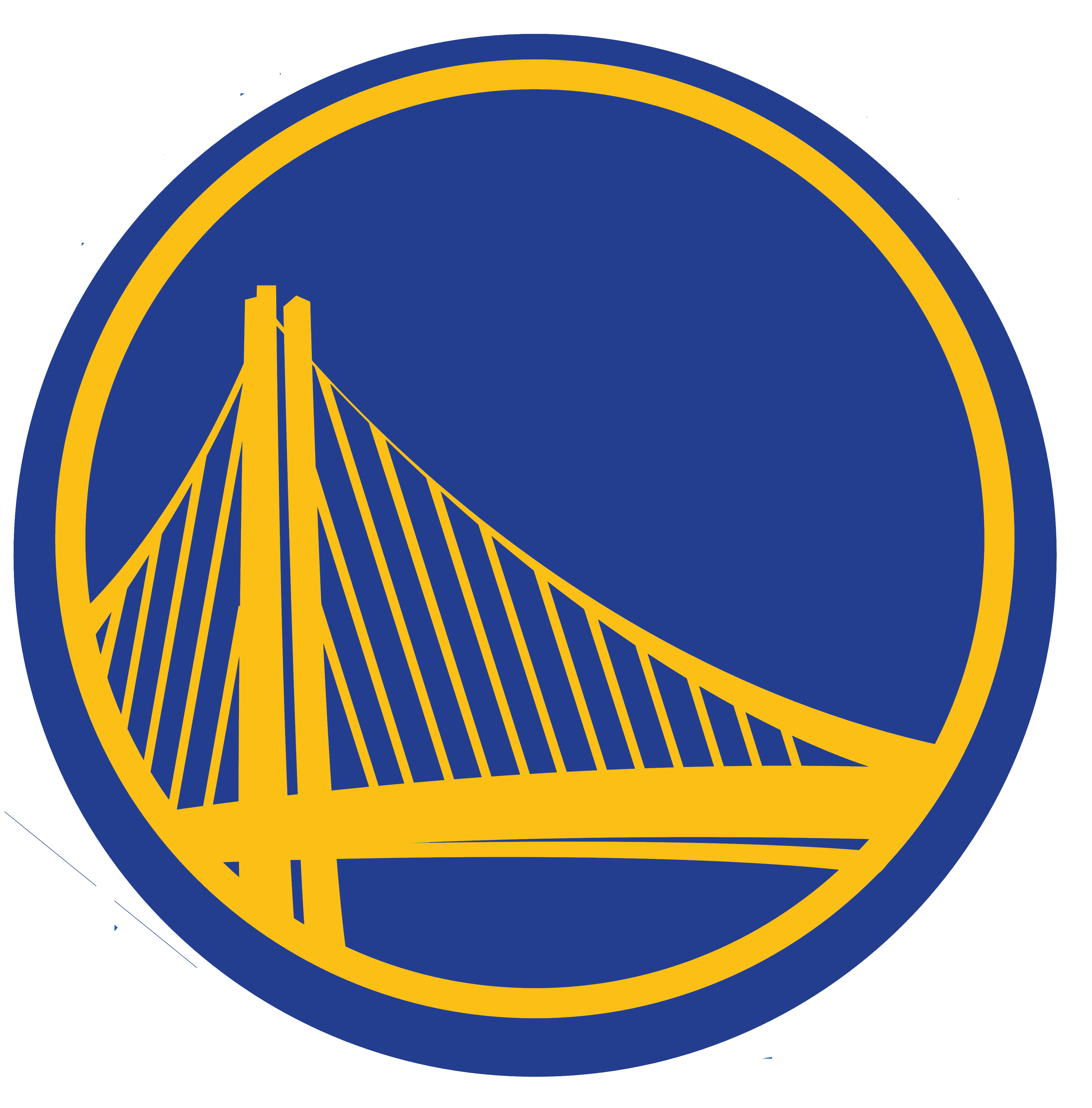 Golden Area Warriors Symbol State Nba Finals PNG Image
