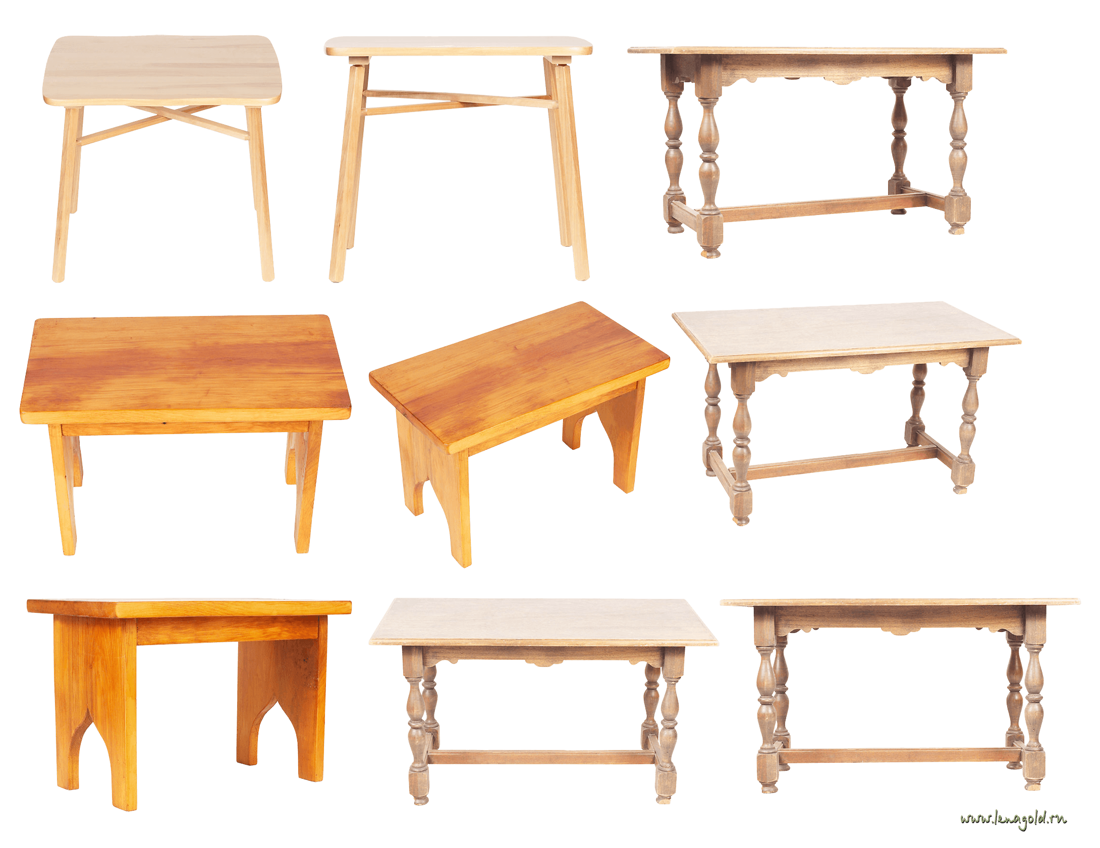 Wooden Tables Png Image PNG Image