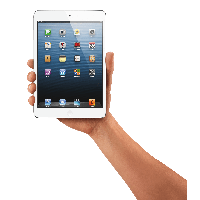 Tablet In Hand Png Image PNG Image