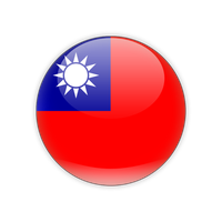 Taiwan Flag Transparent Background PNG Image