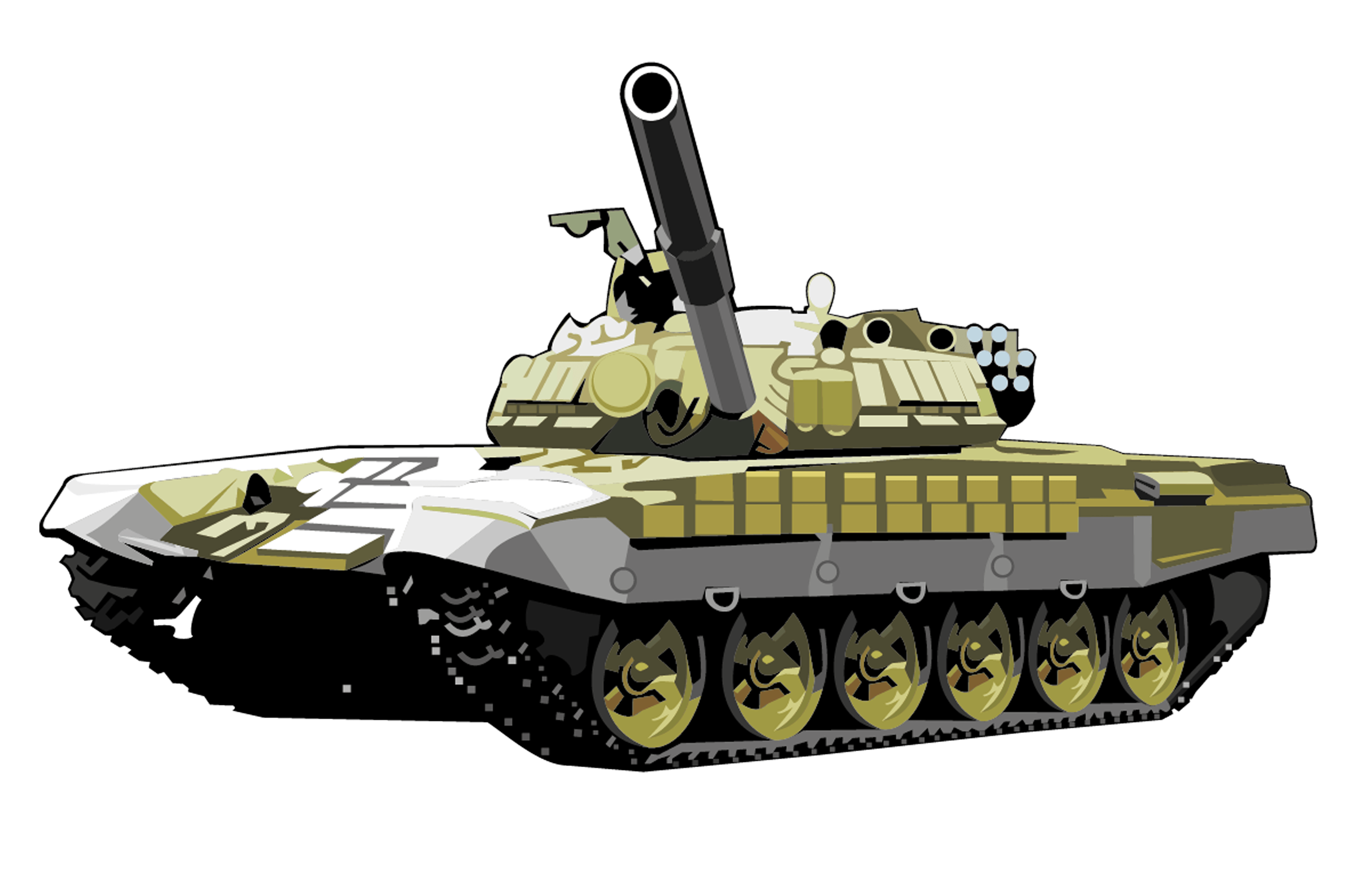 T72 Tank Png Image Armored Tank PNG Image