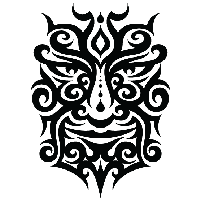 Tattoo Face Png Image PNG Image