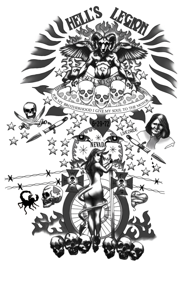 Sims Tattoo Arts Art Dead Visual Left PNG Image