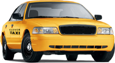 Taxi Cab Picture PNG Image