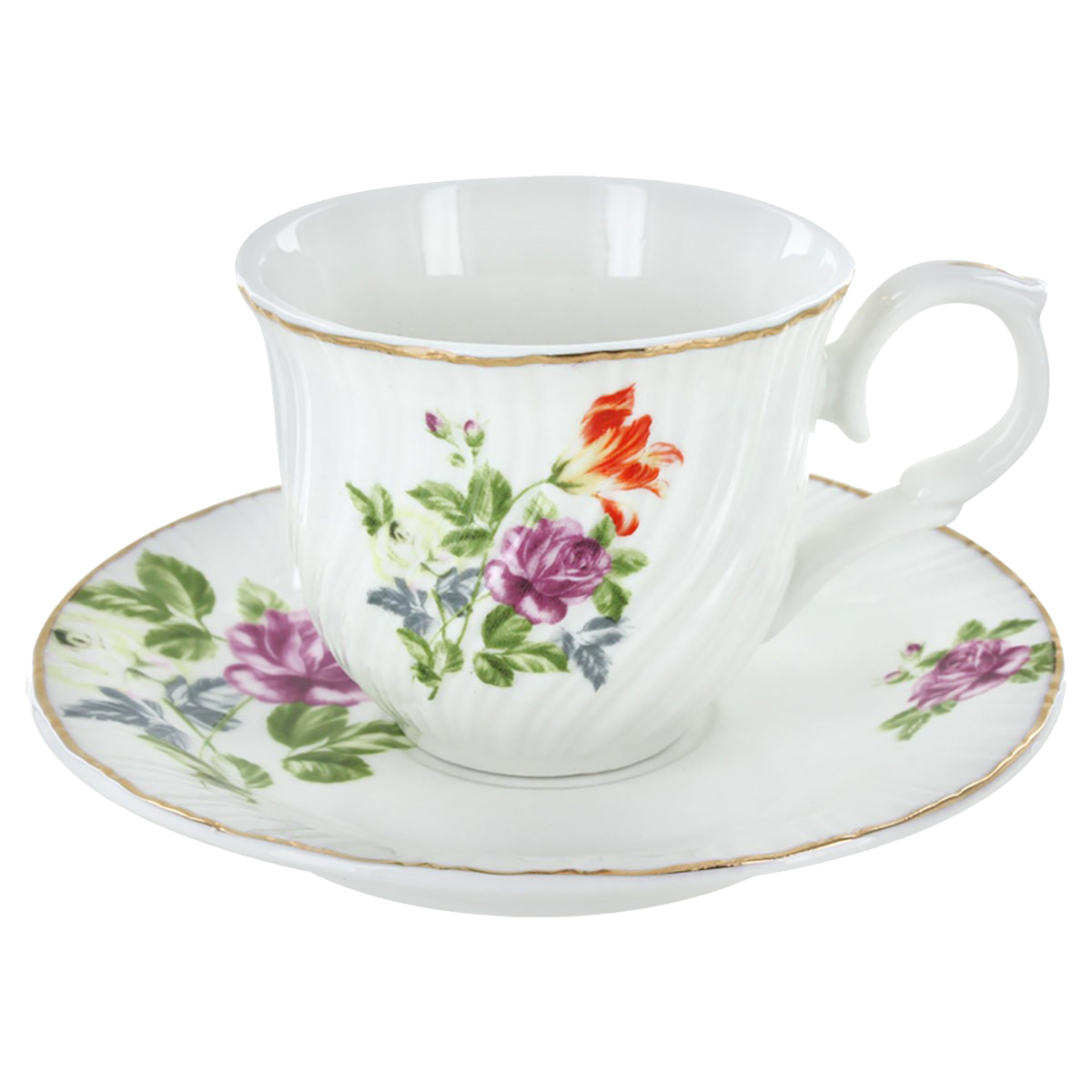 Tea Cup Transparent Background PNG Image