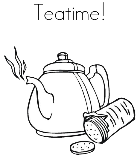 Tea Time Hd PNG Image