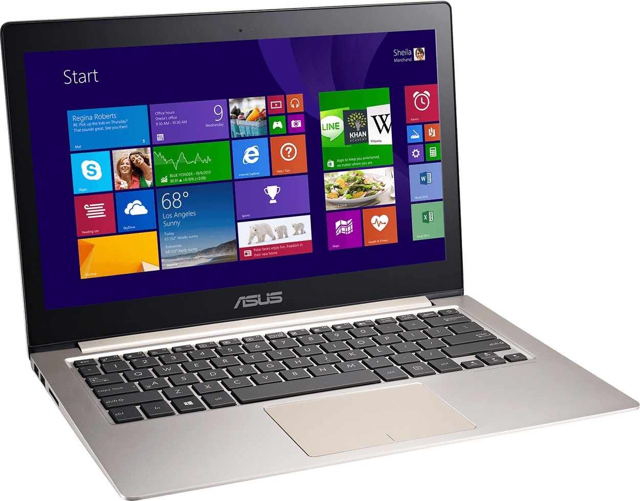 Asus Laptop Photo PNG Image
