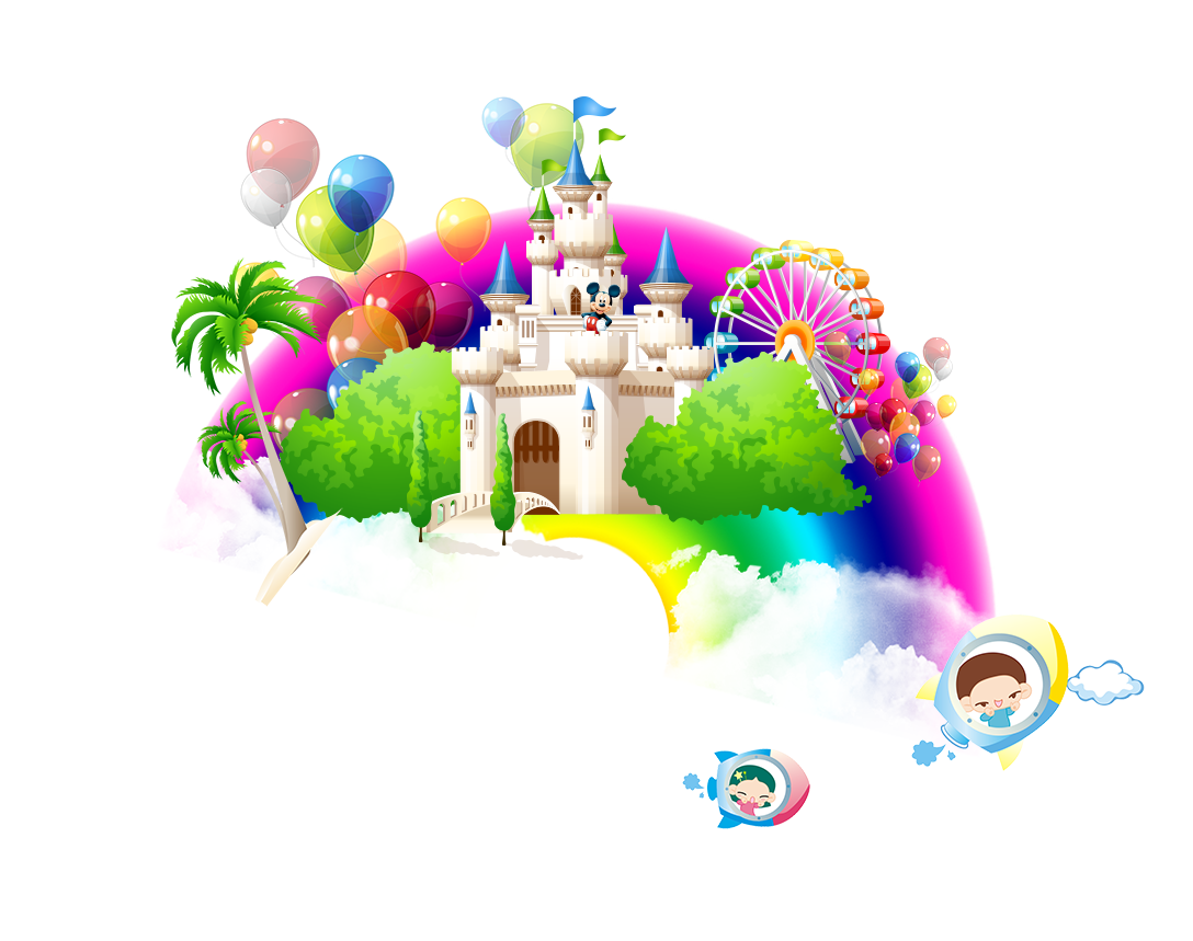 Toy End Rainbows Child Text Cartoon PNG Image