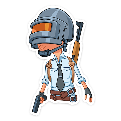 Toy Pubg Mobile Sticker Machine Battlegrounds Playerunknown PNG Image