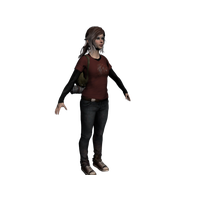 Ellie The Last Of Us PNG Image