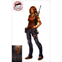 Ellie The Last Of Us File PNG Image