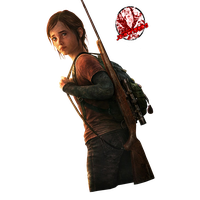 Ellie The Last Of Us Transparent Background PNG Image