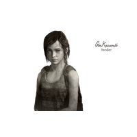 Ellie The Last Of Us Photos PNG Image