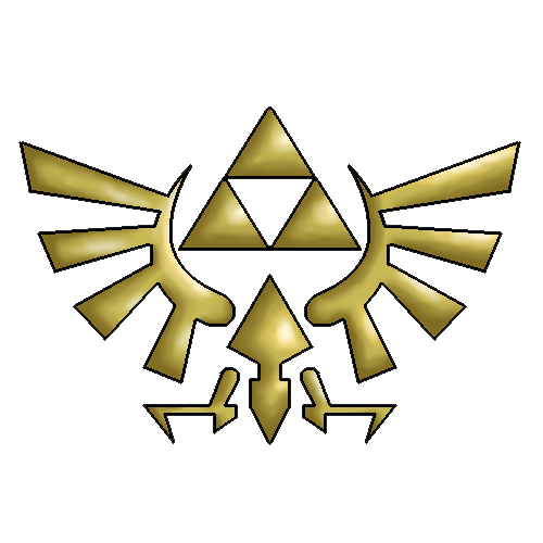 The Legend Of Zelda Logo File PNG Image