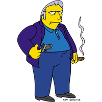 The Simpsons Transparent Background PNG Image