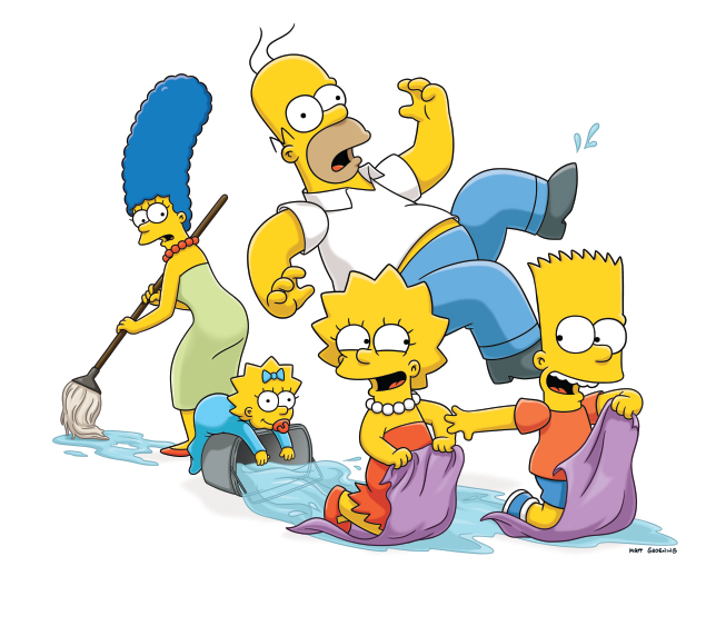 The Simpsons Hd PNG Image