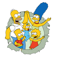 The Simpsons Transparent Image PNG Image