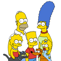 The Simpsons Clipart PNG Image