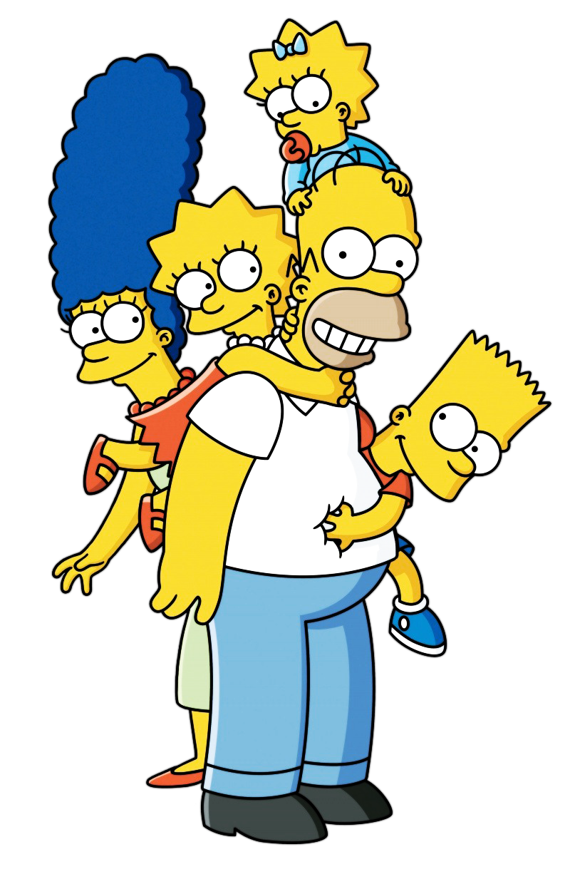 The Simpsons File PNG Image