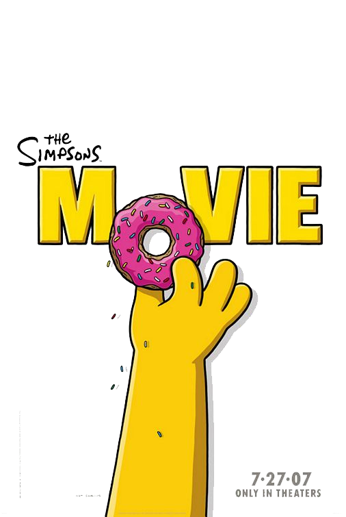 The Simpsons Movie File PNG Image