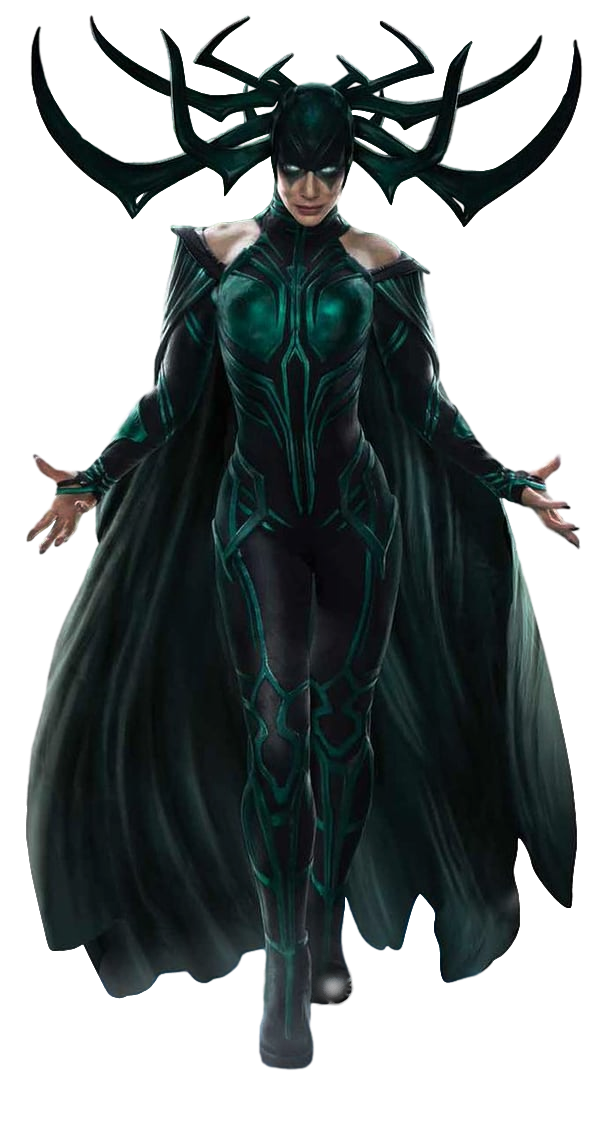 Character Fictional Thor Supernatural Hela Odin Creature PNG Image