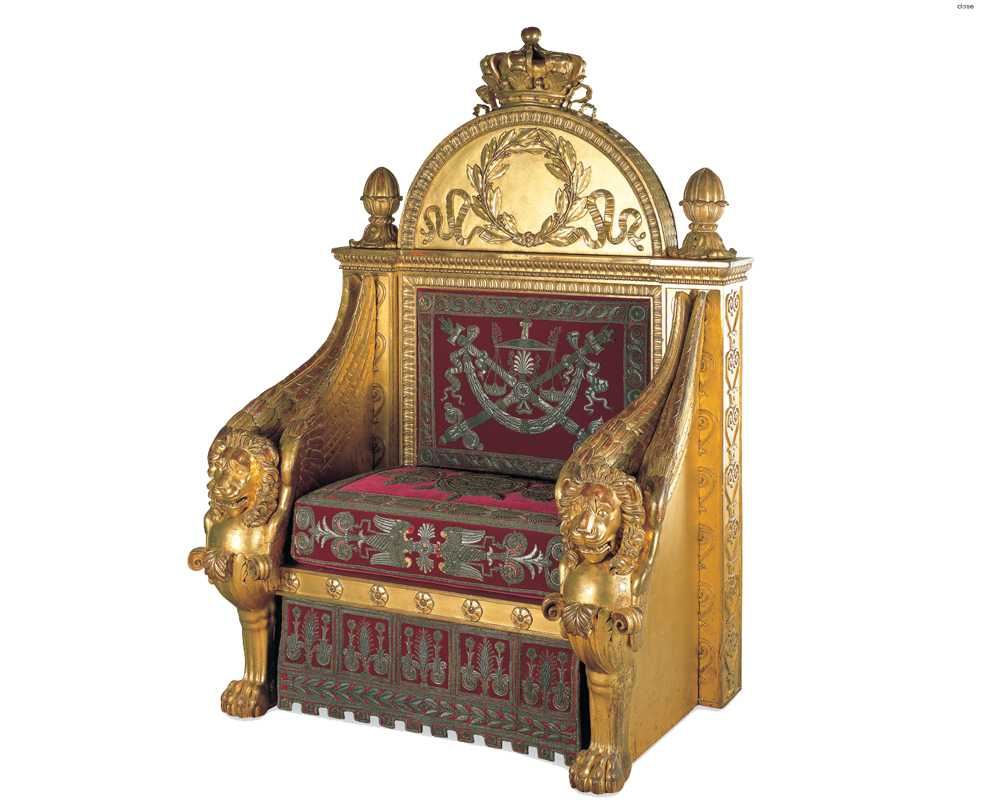 Throne Transparent PNG Image