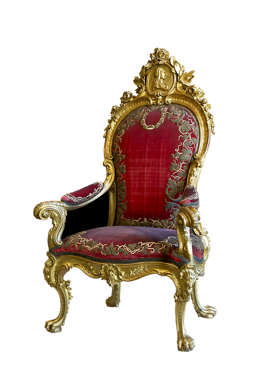 Throne Network Light Graphics Cafe Silver Red PNG Image