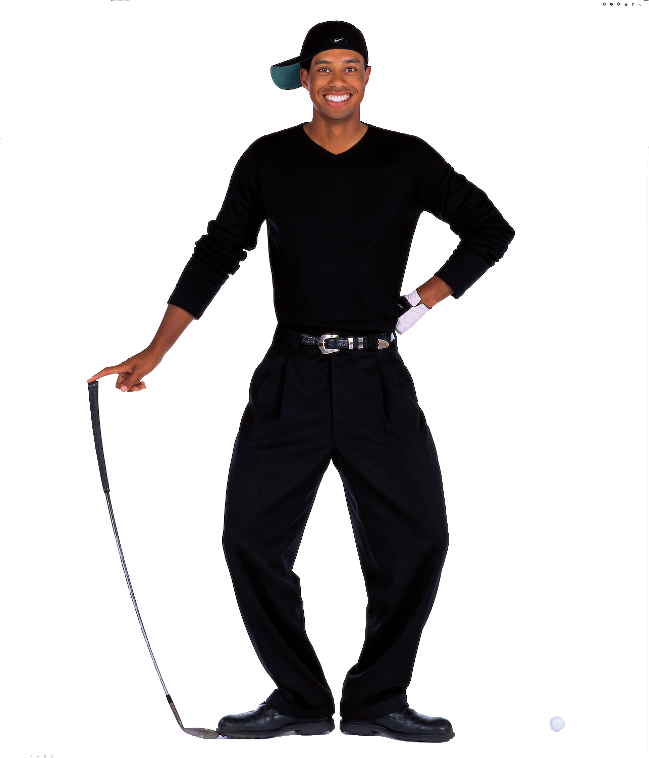 Tiger Woods Transparent Image PNG Image