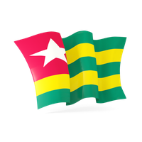 Togo Flag Png Picture PNG Image
