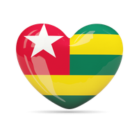 Togo Flag Png Clipart PNG Image