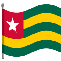 Togo Flag Picture PNG Image
