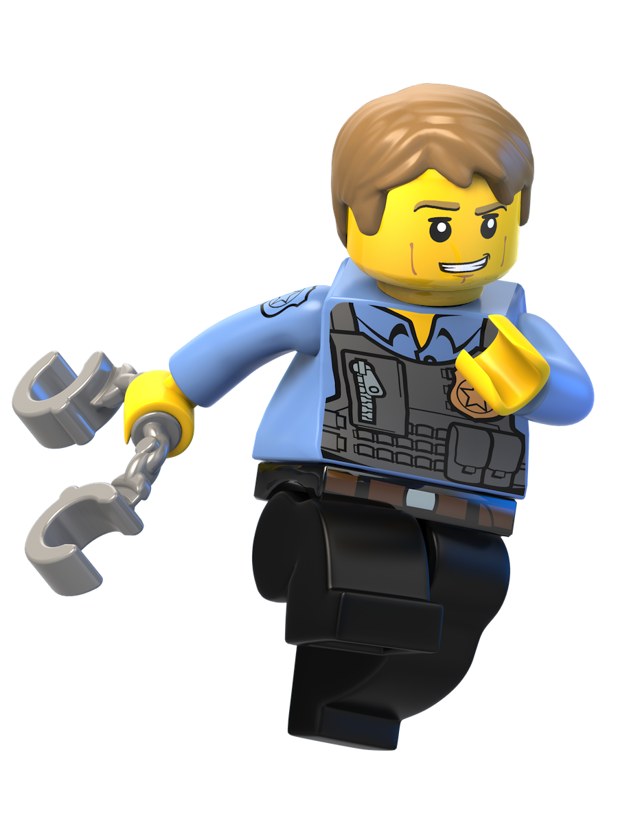 Begins City Toy Lego Wii Figurine The PNG Image