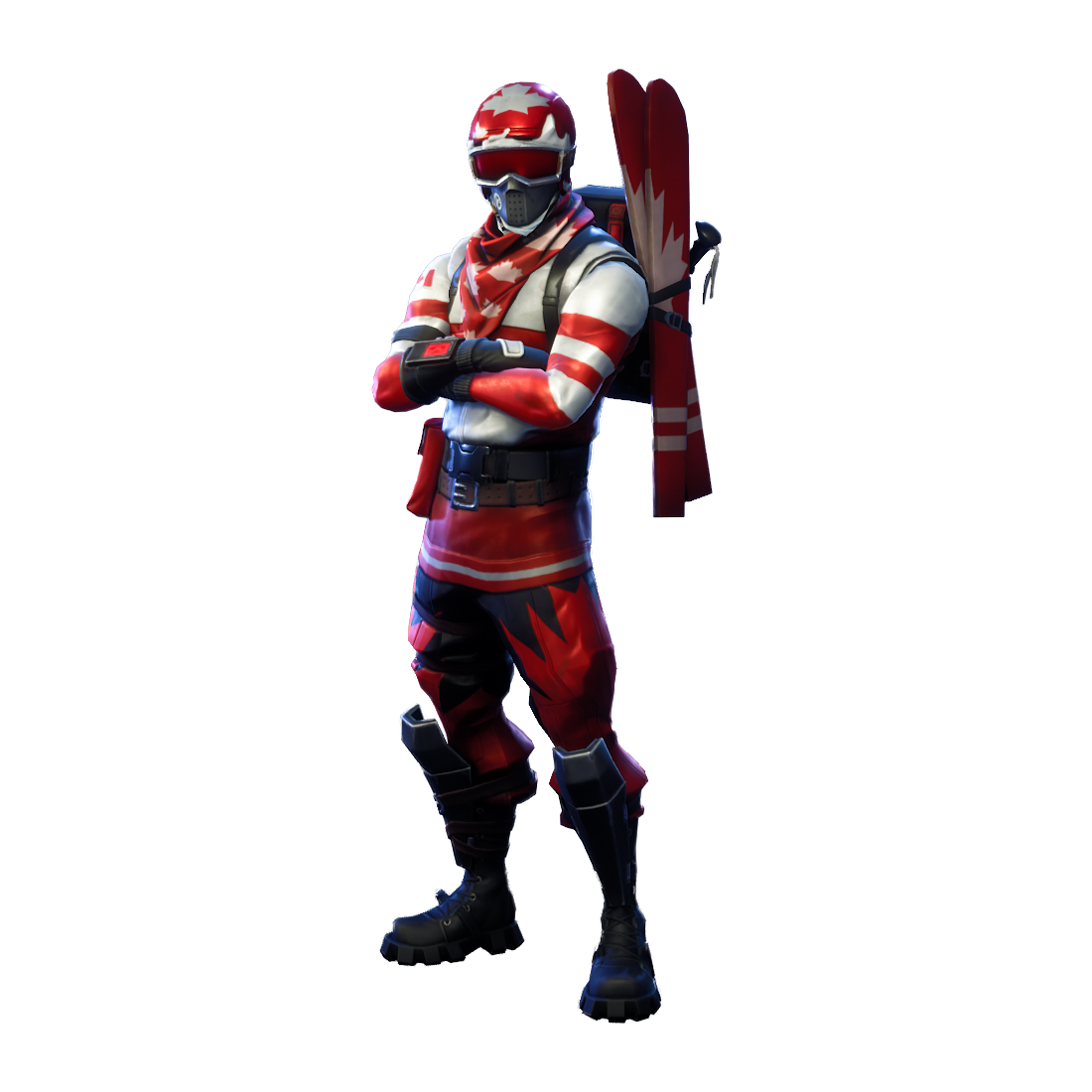 Toy Figure Knight Royale Fortnite Battle Action PNG Image