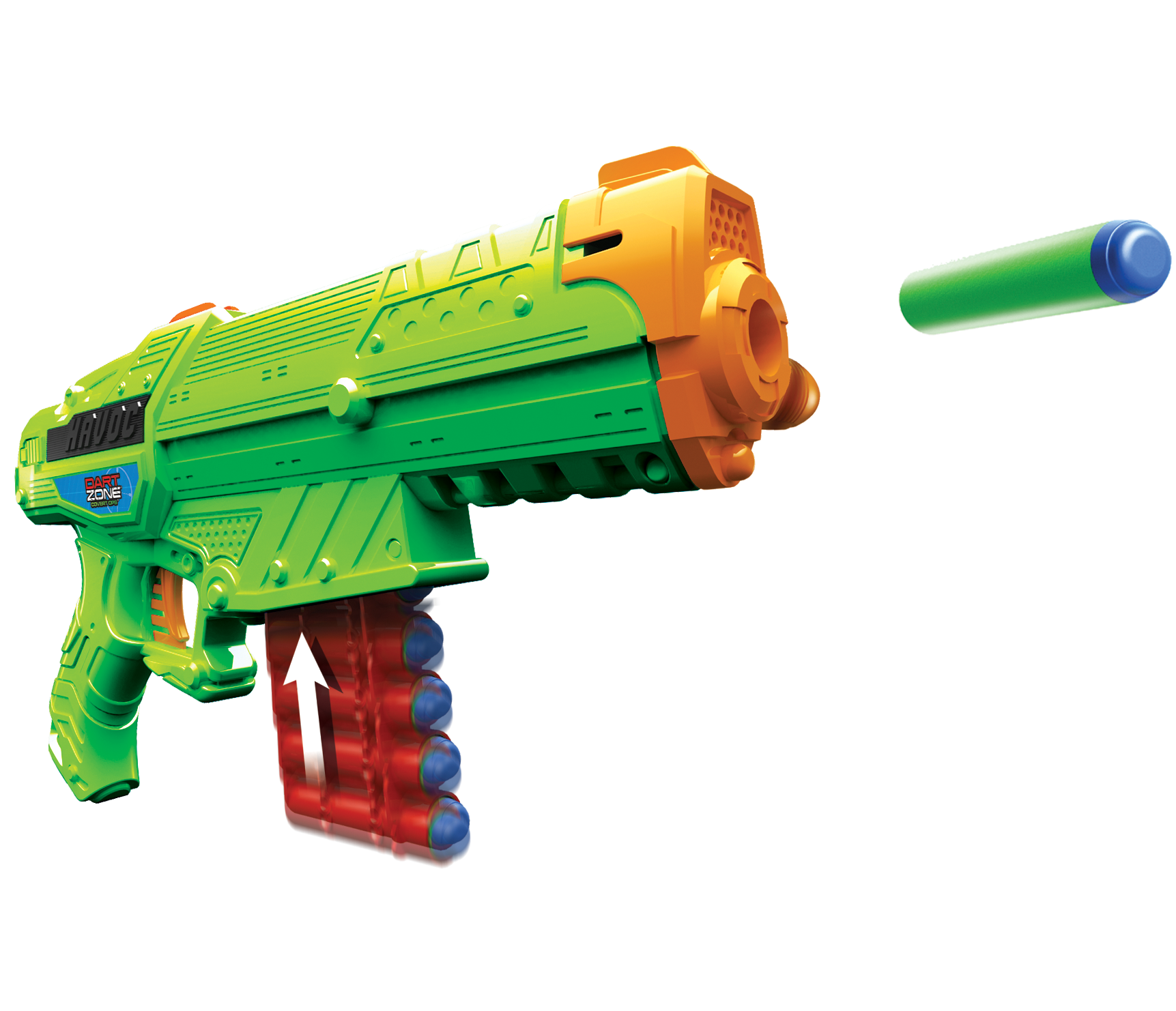 Toy Force Blaster Weapon Enforcer Adventure Nstrike PNG Image