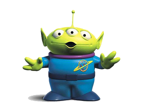 Toy Story Alien File PNG Image